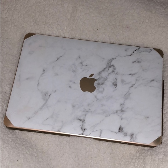 Other Rose Gold Marble Macbook Air Case Poshmark